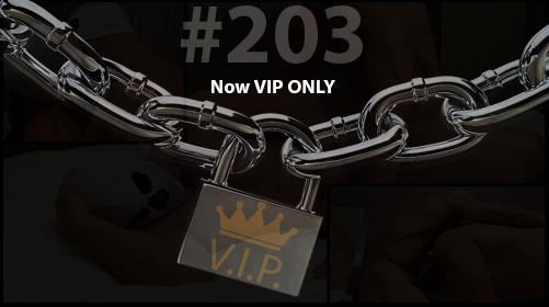 #203 is Released!  Brad Fucked Sideways
